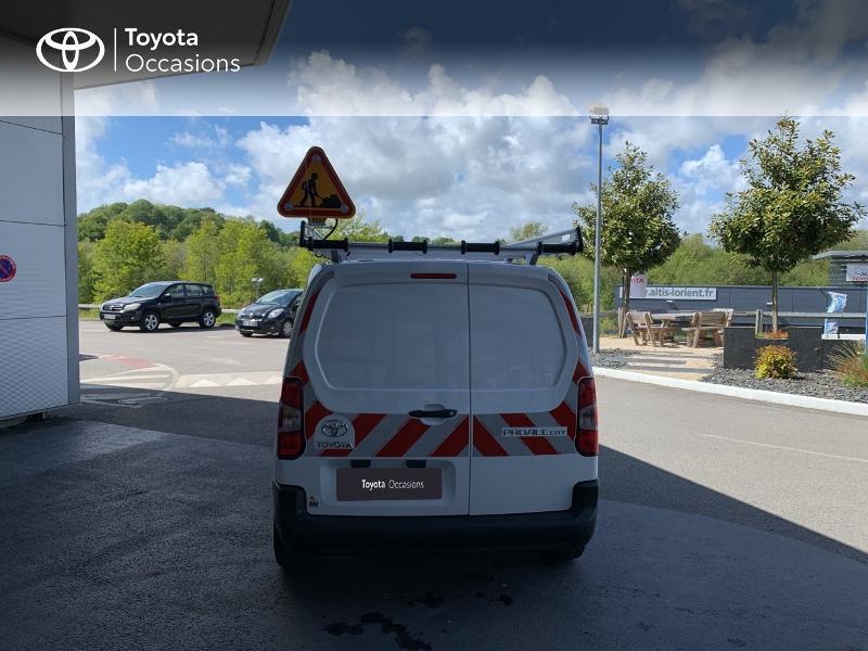 Photo 4 de l'offre de TOYOTA PROACE CITY Medium 75 D-4D Dynamic RC21 à 19990€ chez Altis - Toyota Lorient