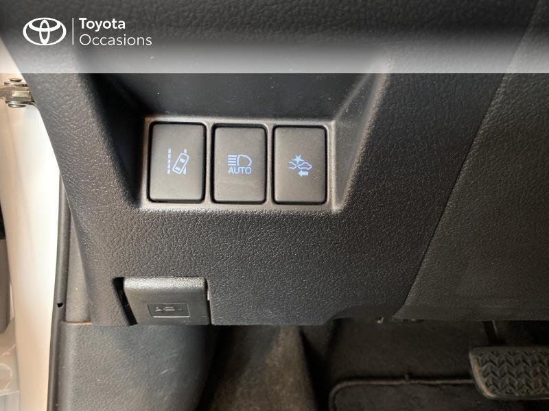 Photo 17 de l'offre de TOYOTA Yaris 100h France 5p à 13980€ chez Altis - Toyota Lorient