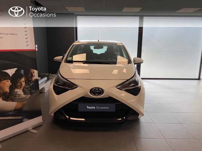 Photo 5 de l'offre de TOYOTA Aygo 1.0 VVT-i 72ch x-play 3p à 9990€ chez Altis - Toyota Lorient