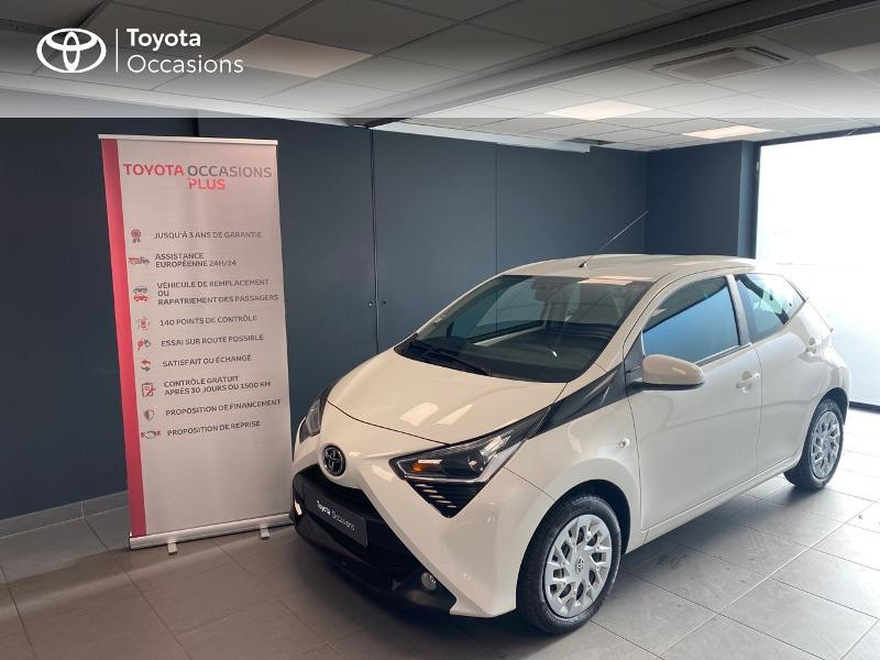 Photo 1 de l'offre de TOYOTA Aygo 1.0 VVT-i 72ch x-play 5p à 9490€ chez Altis - Toyota Lorient