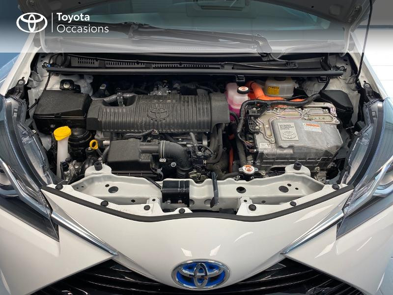 Photo 20 de l'offre de TOYOTA Yaris 100h Dynamic 5p RC18 à 13990€ chez Altis - Toyota Lorient
