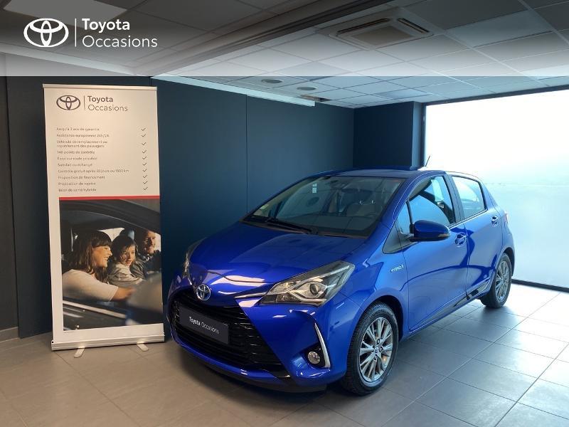 Photo 1 de l'offre de TOYOTA Yaris 100h Dynamic 5p à 13990€ chez Altis - Toyota Lorient