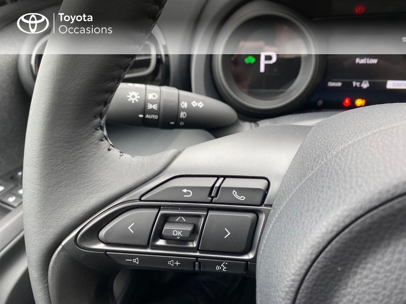 Photo 20 de l'offre de TOYOTA Yaris 116h Design 5p à 23000€ chez Altis - Toyota Lorient