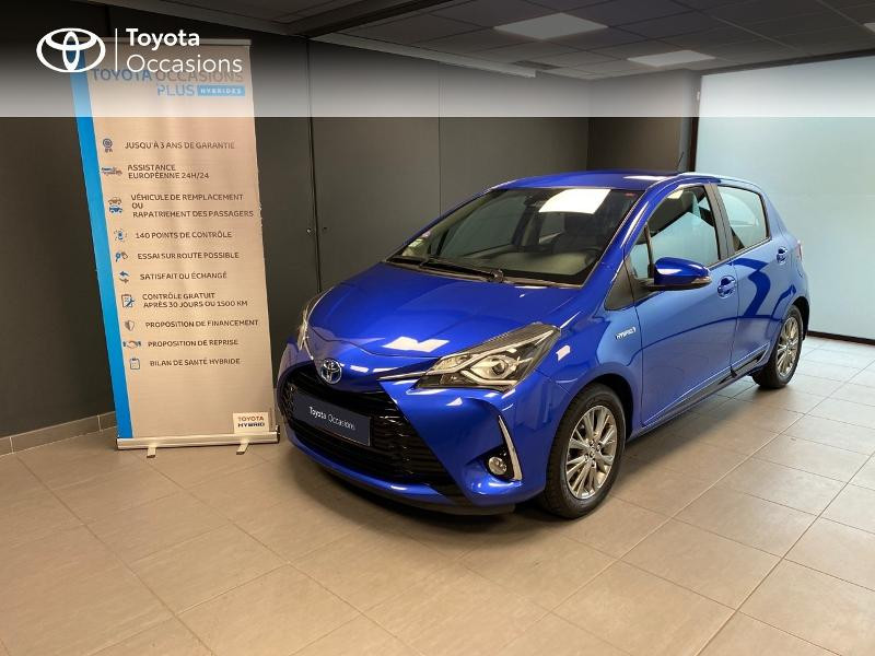 Photo 1 de l'offre de TOYOTA Yaris 100h Dynamic 5p à 12980€ chez Altis - Toyota Lorient