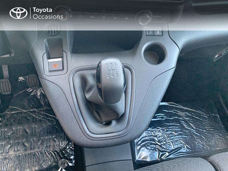 Photo 23 de l'offre de TOYOTA PROACE CITY Medium 75 D-4D Dynamic RC21 à 19990€ chez Altis - Toyota Lorient