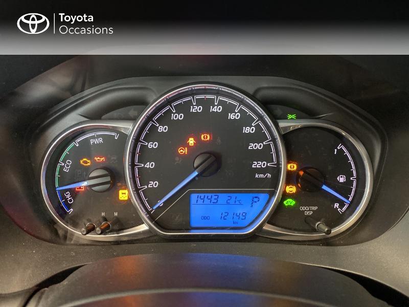 Photo 15 de l'offre de TOYOTA Yaris 100h France 5p à 13980€ chez Altis - Toyota Lorient