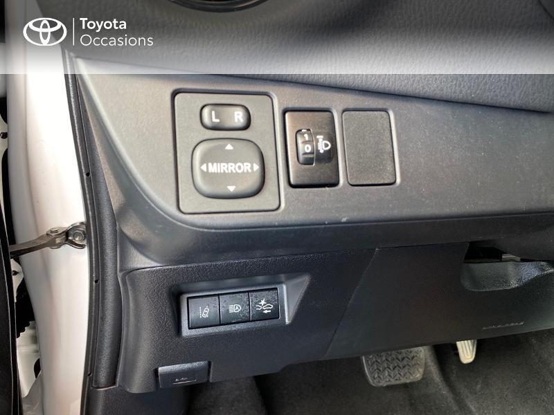 Photo 17 de l'offre de TOYOTA Yaris 100h Dynamic 5p RC18 à 13990€ chez Altis - Toyota Lorient