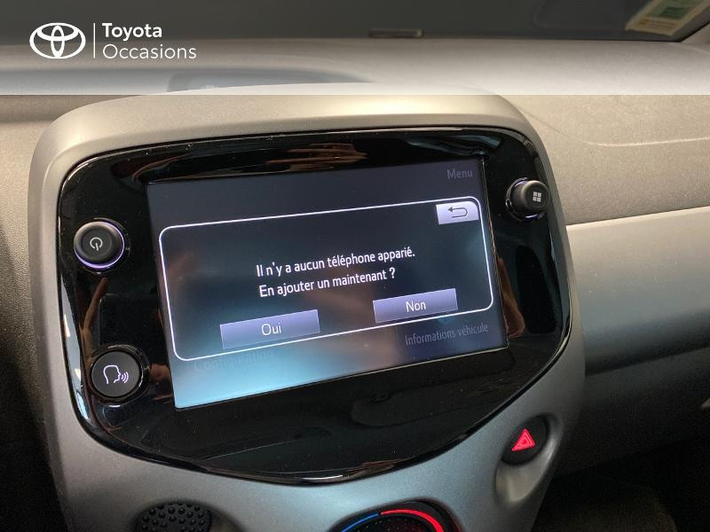 Photo 9 de l'offre de TOYOTA Aygo 1.0 VVT-i 72ch x-play 3p à 9990€ chez Altis - Toyota Lorient