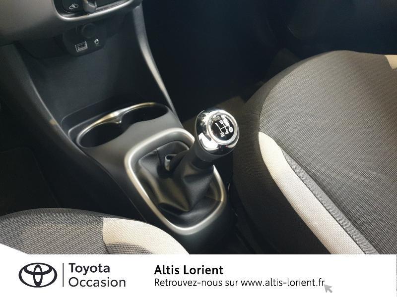 Photo 11 de l'offre de TOYOTA Aygo 1.0 VVT-i 72ch x-play 5p à 11490€ chez Altis - Toyota Lorient