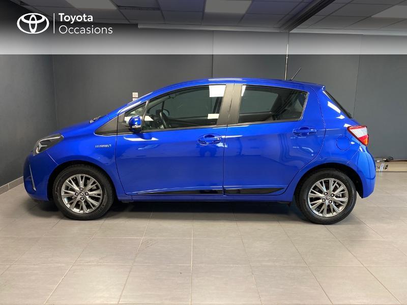 Photo 3 de l'offre de TOYOTA Yaris 100h Dynamic 5p à 12980€ chez Altis - Toyota Lorient