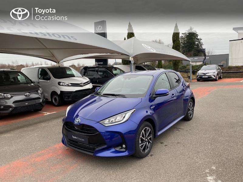 Photo 1 de l'offre de TOYOTA Yaris 116h Design 5p à 23000€ chez Altis - Toyota Lorient