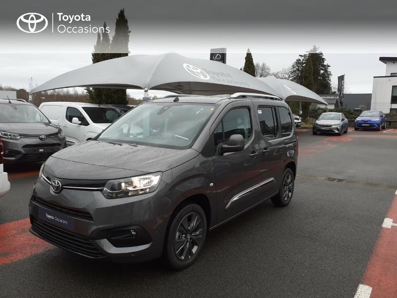Toyota PROACE CITY Verso Medium 1.2 130 VVT-i Design BVA RC21 Essence NOIR Occasion à vendre