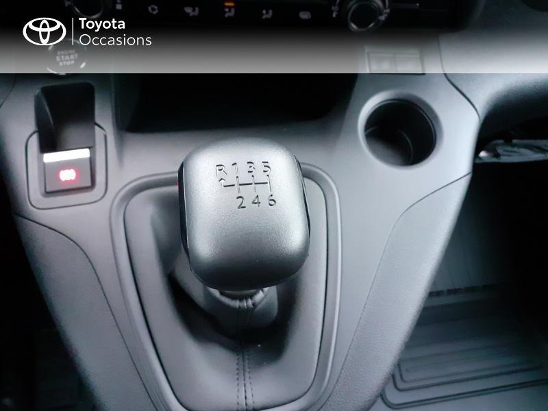 Photo 23 de l'offre de TOYOTA PROACE CITY Long 130 D-4D Business RC21 à 24590€ chez Altis - Toyota Lorient