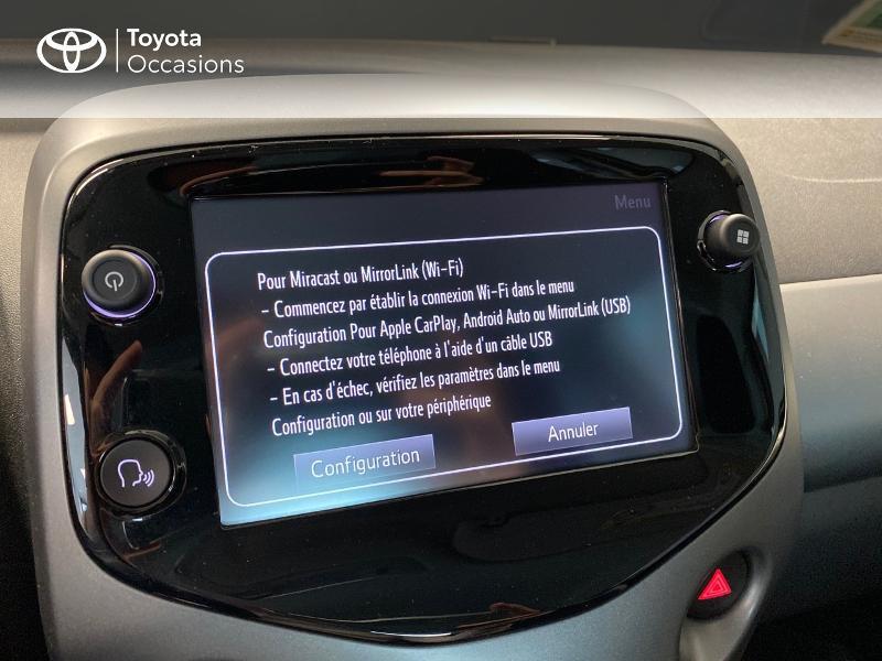 Photo 15 de l'offre de TOYOTA Aygo 1.0 VVT-i 72ch x-play 3p à 9990€ chez Altis - Toyota Lorient