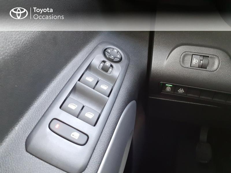 Photo 21 de l'offre de TOYOTA PROACE CITY Verso Medium 1.5 100 D-4D Design RC21 à 28590€ chez Altis - Toyota Lorient