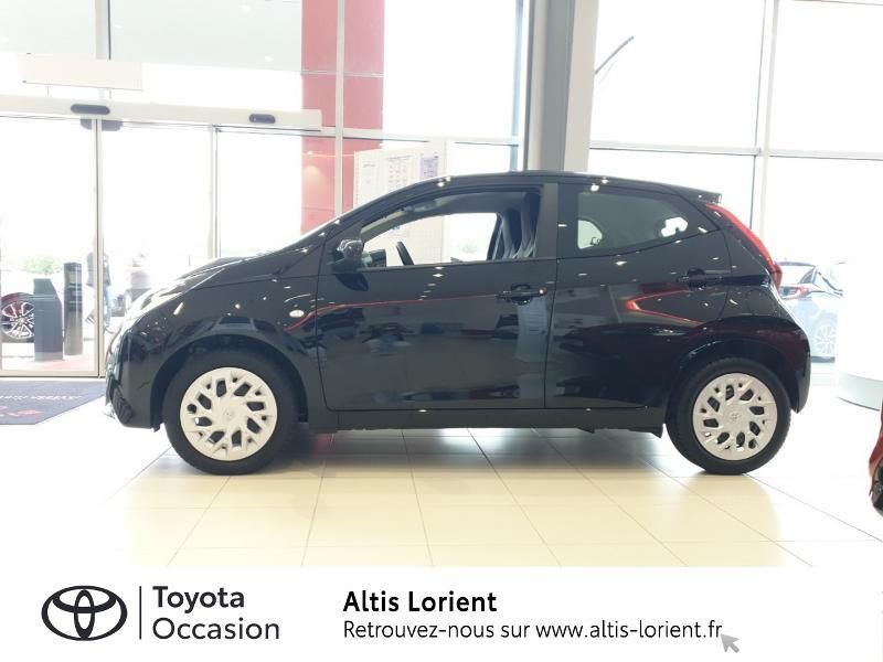 Photo 3 de l'offre de TOYOTA Aygo 1.0 VVT-i 72ch x-play 5p à 11490€ chez Altis - Toyota Lorient
