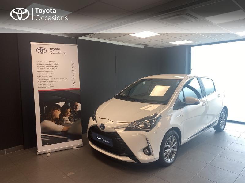 Photo 1 de l'offre de TOYOTA Yaris 100h Dynamic 5p MY19 à 13980€ chez Altis - Toyota Lorient