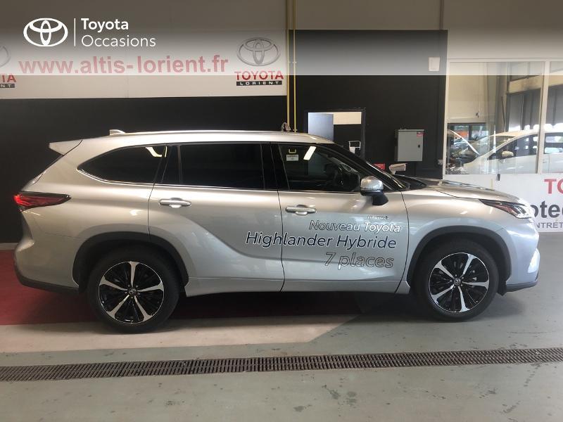 Photo 17 de l'offre de TOYOTA Highlander Hybrid 248ch Lounge AWD-I à 58990€ chez Altis - Toyota Lorient