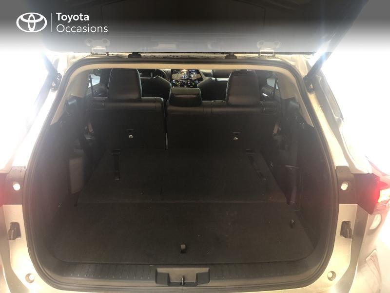 Photo 10 de l'offre de TOYOTA Highlander Hybrid 248ch Lounge AWD-I à 58990€ chez Altis - Toyota Lorient