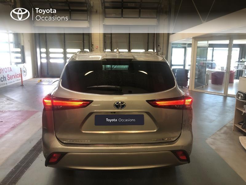 Photo 4 de l'offre de TOYOTA Highlander Hybrid 248ch Lounge AWD-I à 58990€ chez Altis - Toyota Lorient