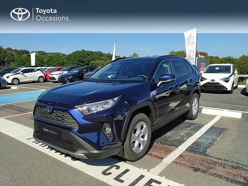 Toyota RAV4 Hybride 218ch Dynamic 2WD MY21 Hybride Bleu Occasion à vendre