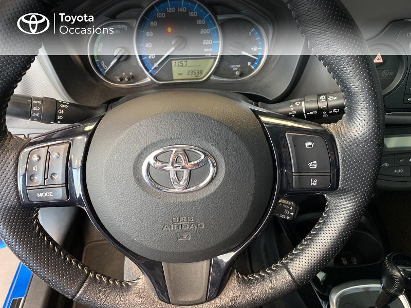 Photo 18 de l'offre de TOYOTA Yaris HSD 100h Design 5p à 12390€ chez Altis - Toyota Lorient