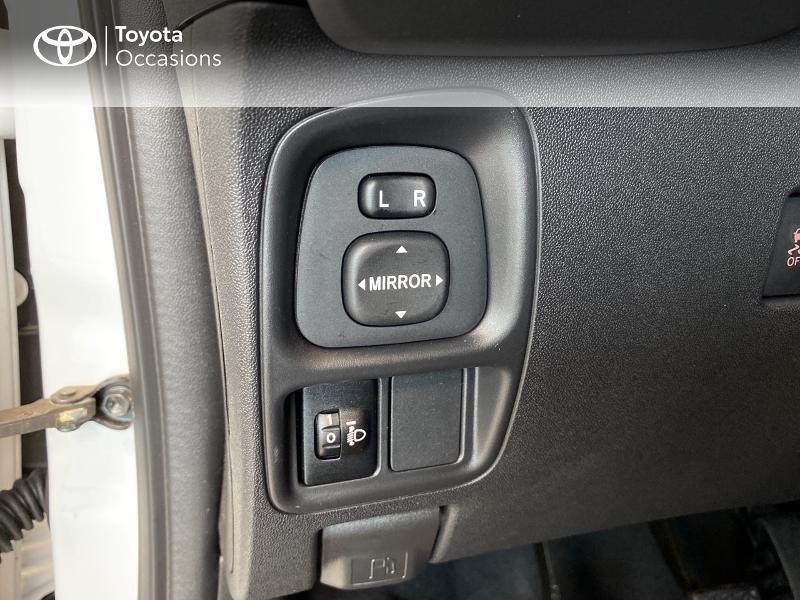 Photo 17 de l'offre de TOYOTA Aygo 1.0 VVT-i 72ch x-play 3p MY20 à 10490€ chez Altis - Toyota Lorient
