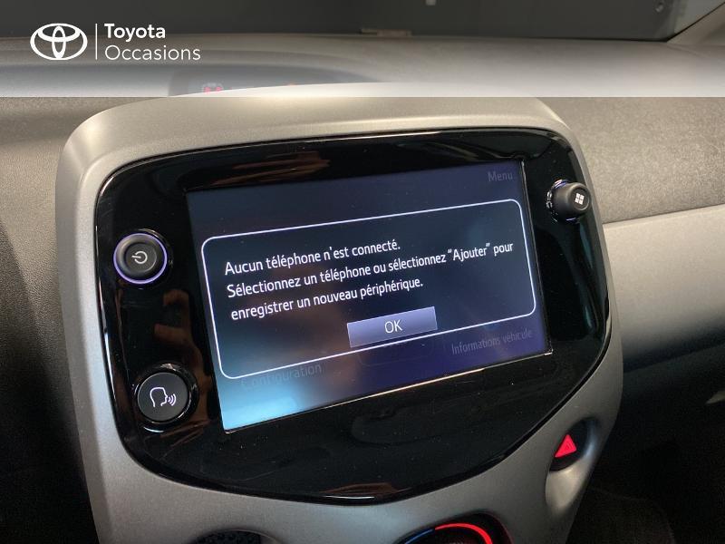 Photo 9 de l'offre de TOYOTA Aygo 1.0 VVT-i 72ch x-play 3p MY20 à 10490€ chez Altis - Toyota Lorient