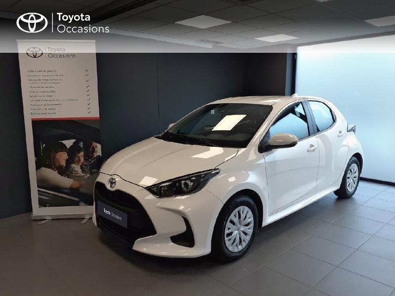 Toyota Yaris 120 VVT-i France 5p Essence BLANC PUR Occasion à vendre