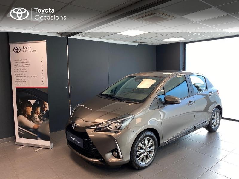 Toyota Yaris 69 VVT-i Dynamic 5p Essence gris clair Occasion à vendre