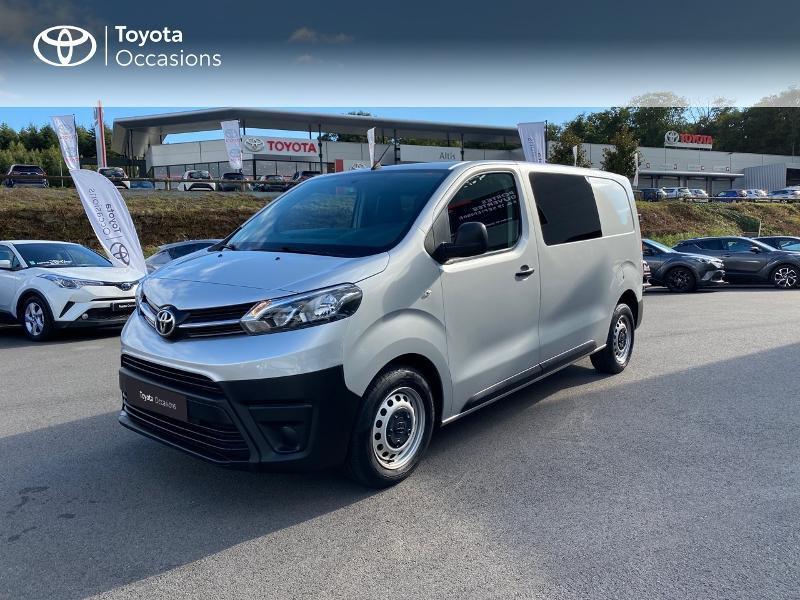 Toyota PROACE Medium 120 D-4D Cabine Approfondie Dynamic Diesel GRIS ALUMINIUM Occasion à vendre