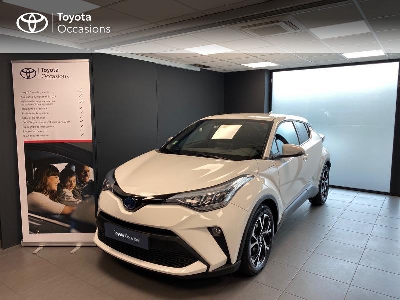 Toyota C-HR 184h Edition 2WD E-CVT MC19 Hybride blanc Occasion à vendre
