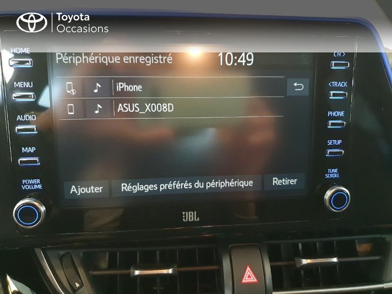 Photo 9 de l'offre de TOYOTA C-HR 184h Graphic 2WD E-CVT MC19 à 27980€ chez Altis - Toyota Lorient