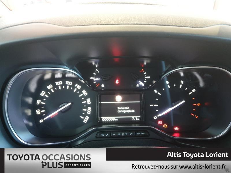 Photo 7 de l'offre de TOYOTA ProAce City Verso Medium 1.5 100 D-4D Design à 29490€ chez Altis - Toyota Lorient