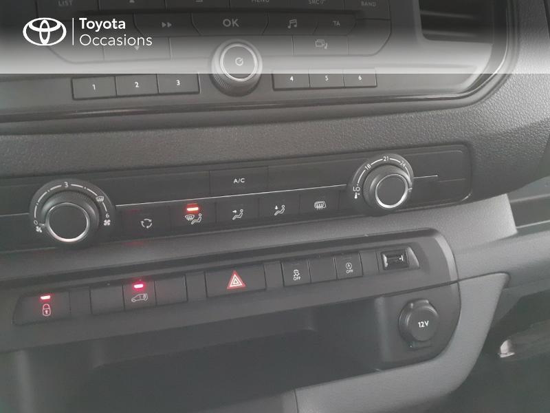 Photo 22 de l'offre de TOYOTA PROACE Compact 1.5 D-4D 100 Dynamic MY20 à 22490€ chez Altis - Toyota Lorient