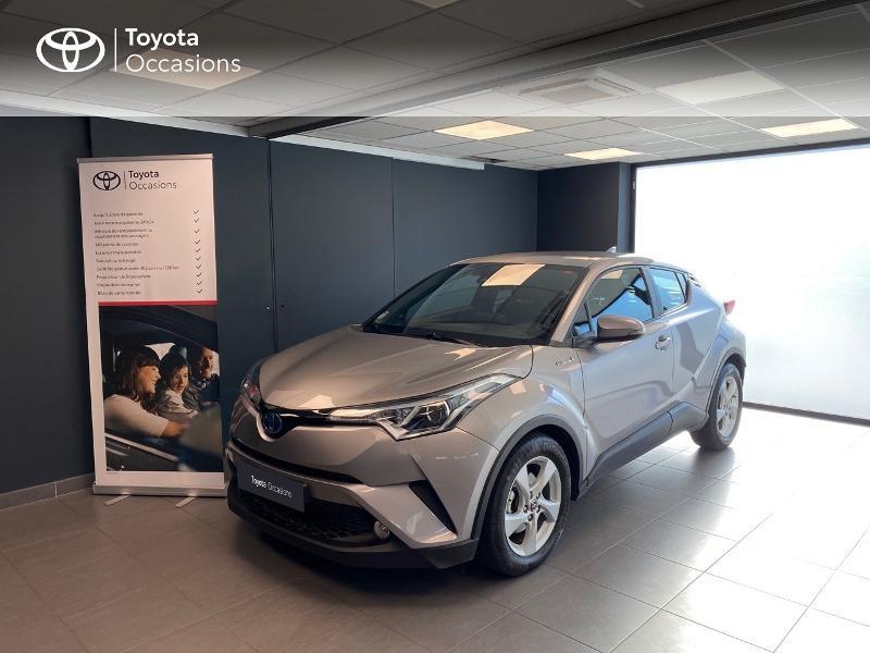 Toyota C-HR 122h Dynamic 2WD E-CVT RC18 Hybride GRIS Occasion à vendre