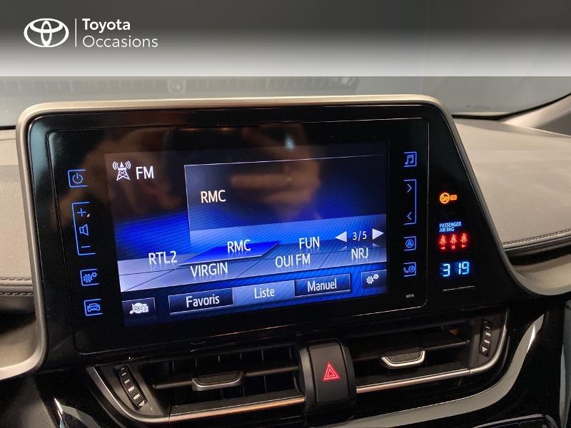 Photo 11 de l'offre de TOYOTA C-HR 122h Edition 2WD E-CVT RC18 à 20590€ chez Altis - Toyota Lorient