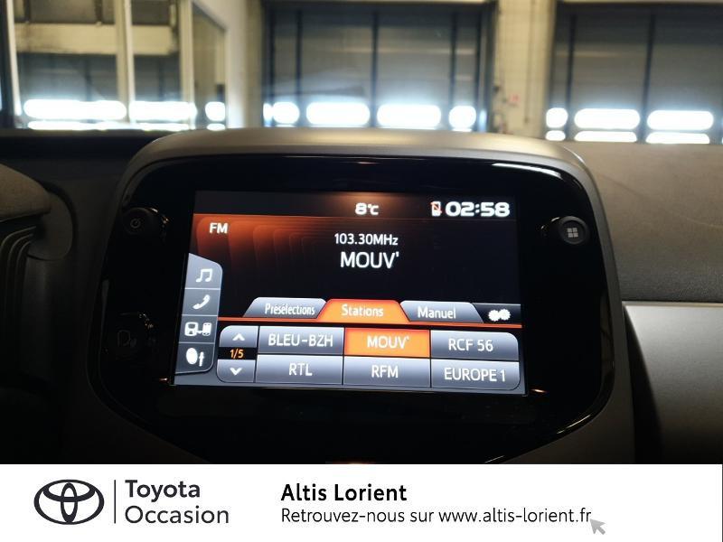 Photo 8 de l'offre de TOYOTA Aygo 1.0 VVT-i 72ch x-play 5p MY20 à 11890€ chez Altis - Toyota Lorient