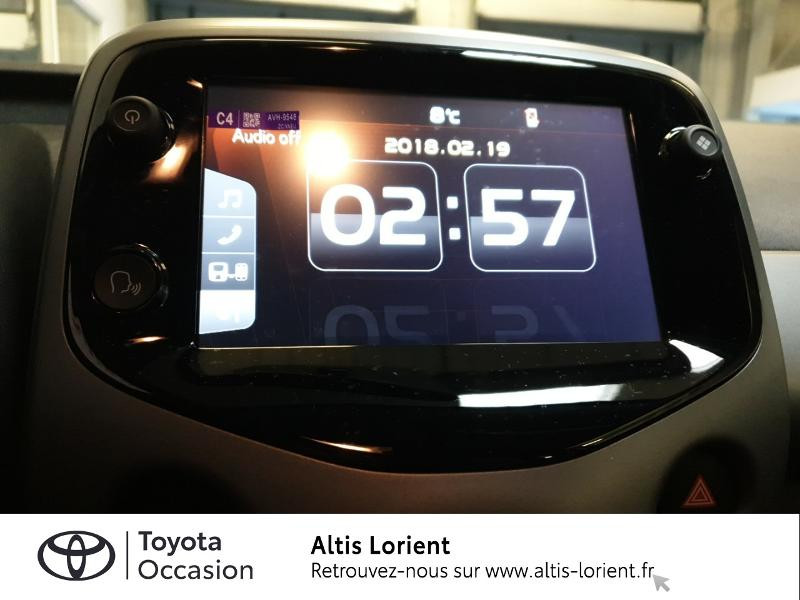 Photo 7 de l'offre de TOYOTA Aygo 1.0 VVT-i 72ch x-play 5p MY20 à 11890€ chez Altis - Toyota Lorient