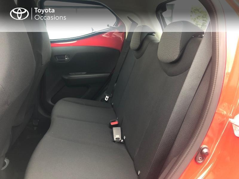 Photo 12 de l'offre de TOYOTA Aygo 1.0 VVT-i 69ch x-red 5p à 8680€ chez Altis - Toyota Vannes
