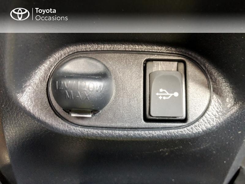Photo 17 de l'offre de TOYOTA Yaris 100h Dynamic 5p à 13980€ chez Altis - Toyota Vannes