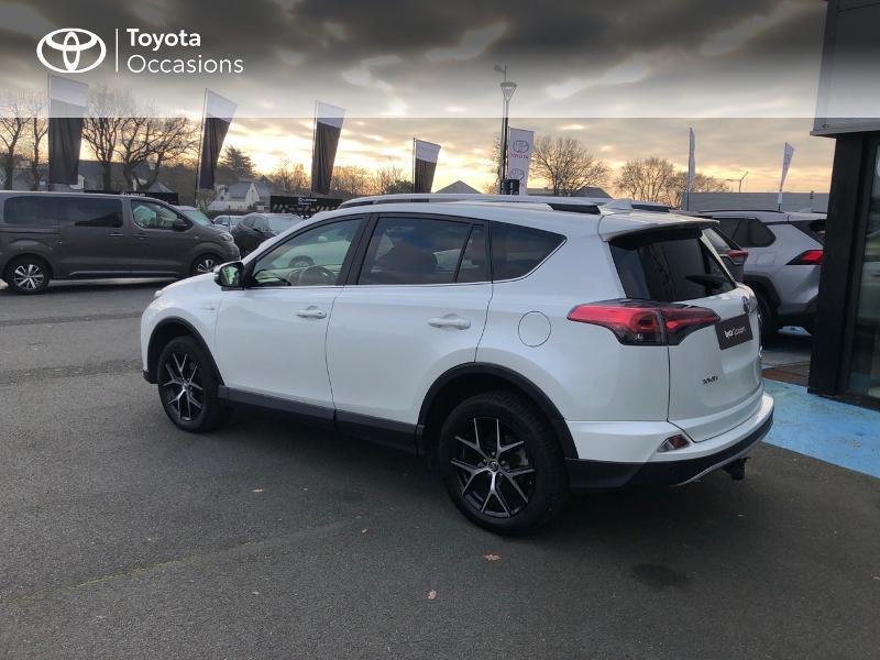 Photo 26 de l'offre de TOYOTA RAV4 197 Hybride Design 2WD CVT à 21980€ chez Altis - Toyota Vannes