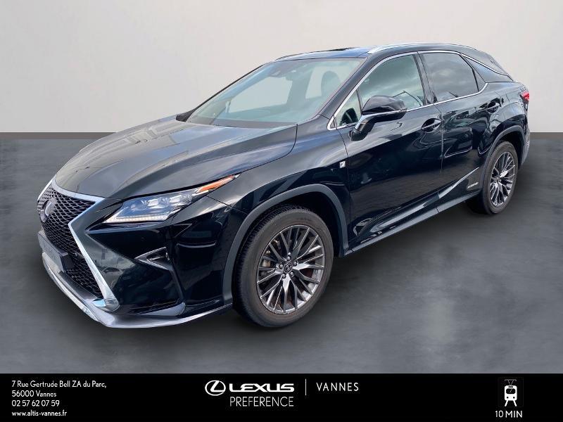 Lexus RX 450h 4WD F SPORT Hybride NOIR Occasion à vendre