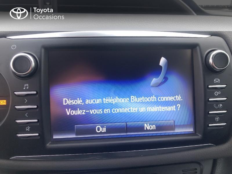 Photo 19 de l'offre de TOYOTA Yaris 100h France 5p RC18 à 12980€ chez Altis - Toyota Vannes