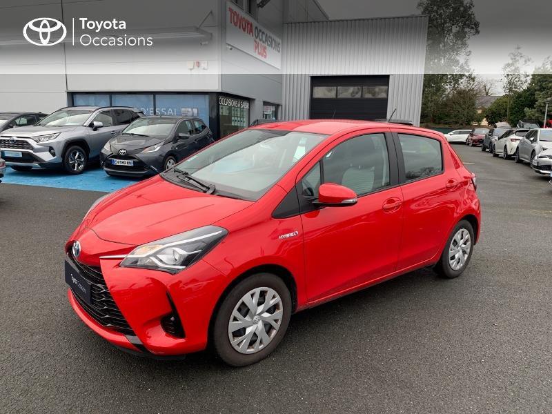 Photo 25 de l'offre de TOYOTA Yaris 100h France 5p à 12980€ chez Altis - Toyota Vannes