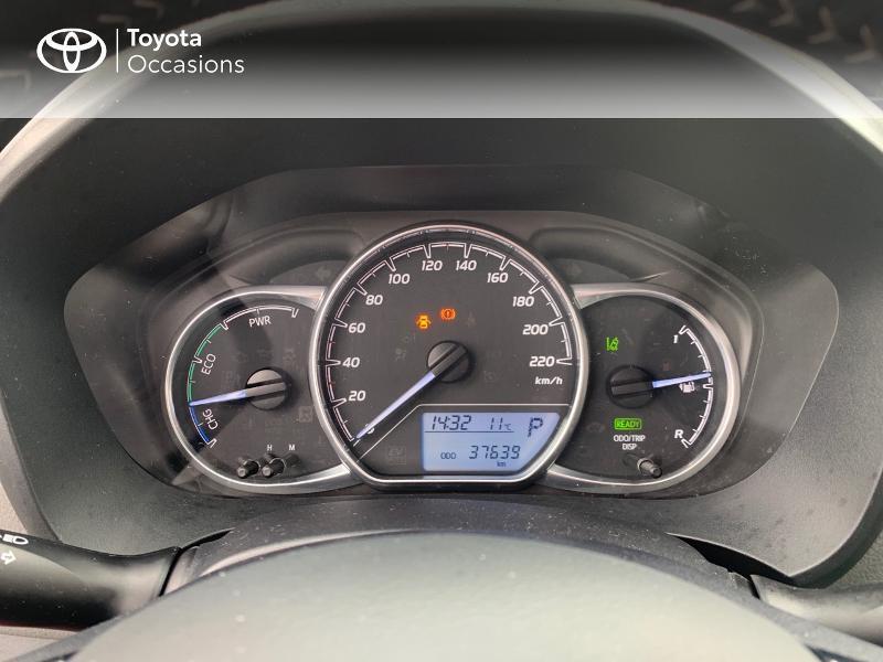 Photo 14 de l'offre de TOYOTA Yaris 100h France 5p à 12980€ chez Altis - Toyota Vannes