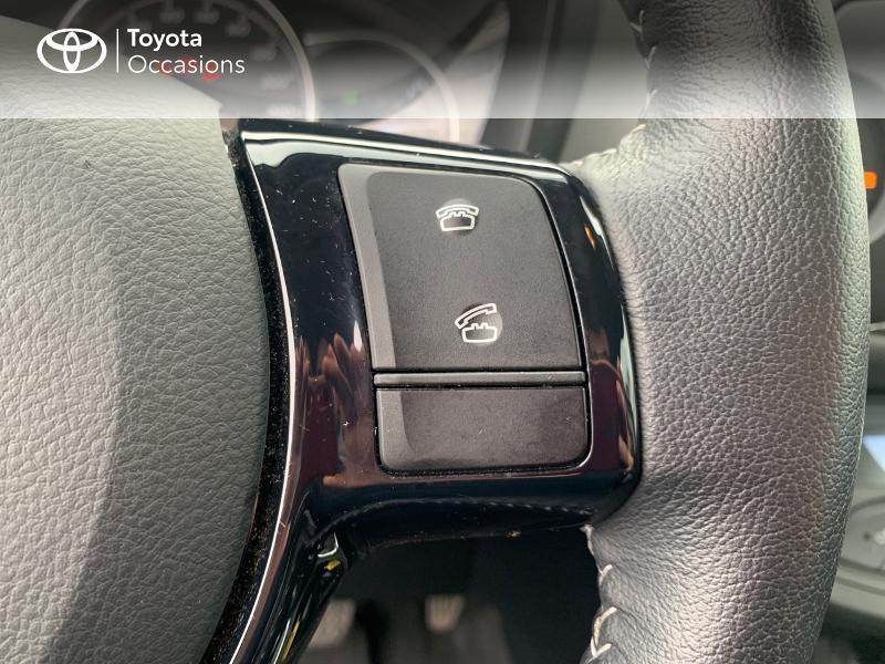 Photo 20 de l'offre de TOYOTA Yaris 100h France 5p à 12980€ chez Altis - Toyota Vannes