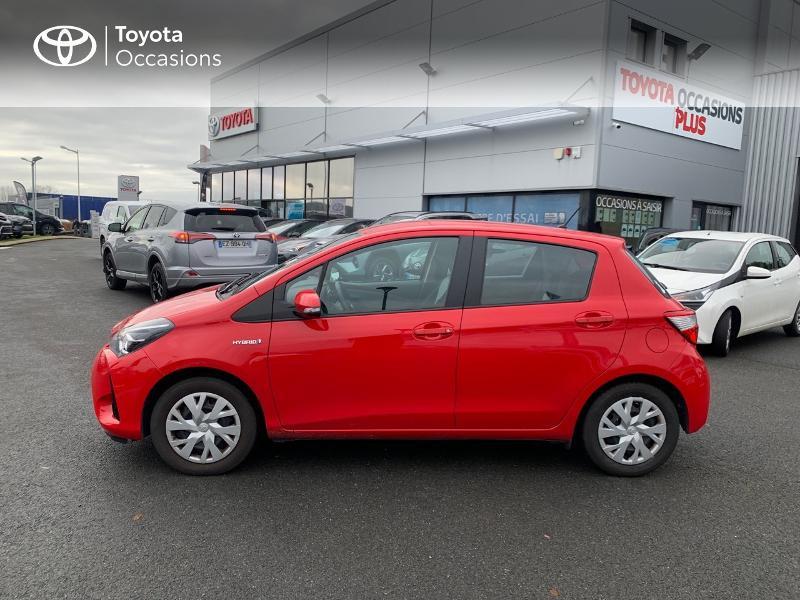 Photo 27 de l'offre de TOYOTA Yaris 100h France 5p à 12980€ chez Altis - Toyota Vannes