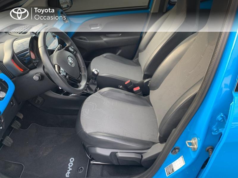 Photo 11 de l'offre de TOYOTA Aygo 1.0 VVT-i 69ch x-wave 2 5p à 8980€ chez Altis - Toyota Vannes