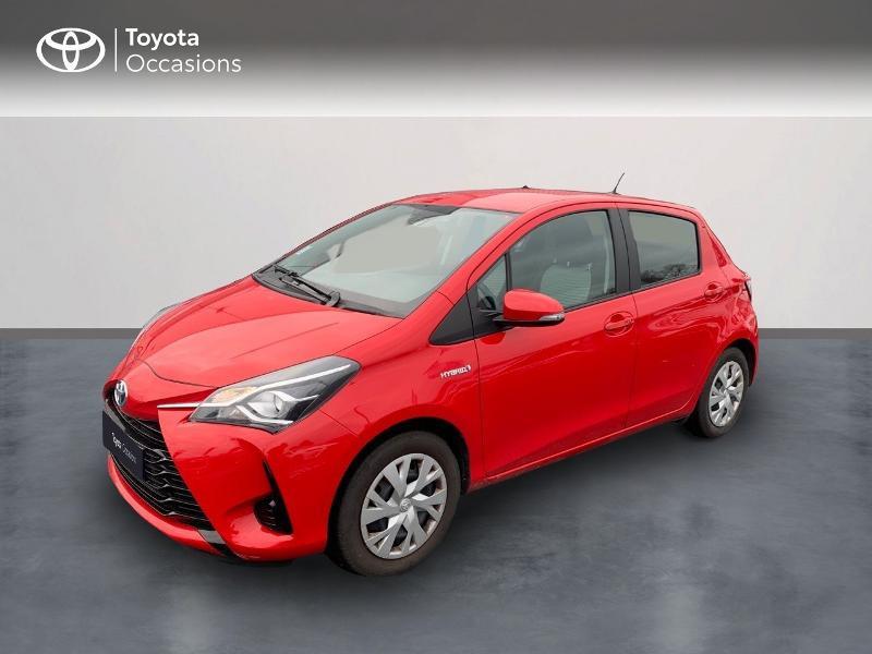 Photo 1 de l'offre de TOYOTA Yaris 100h France 5p à 12980€ chez Altis - Toyota Vannes